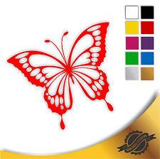 Aufkleber Sticker Autoaufkleber Auto Schmetterling 12 x 10 cm