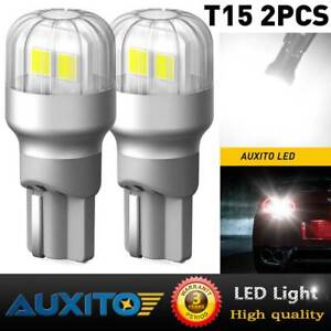 For Toyota Corolla 1998-2019 Camry 97-2020 6000K LED Back Up Reverse Light Bulbs