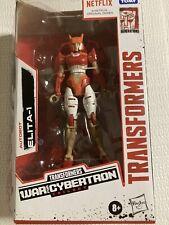 Transformers Netflix War for Cybertron Trilogy Autobot ELITA-1 New Free Shipping