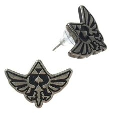 Official The Legend of Zelda Skyward Sword Stud Earrings  - Nintendo Emblem New