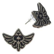 Oficial de la leyenda de Zelda Skyward Sword Aretes-Nintendo Emblema Nuevo