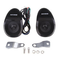 Bluetooth Motorcycle Audio Stereo Music Speakers System MP3 FM Radio USB TF