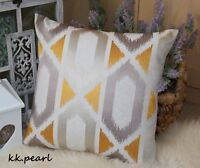 "*JOHN LEWIS ""JUANA"" Cushion Cover Abstract, geometric embroidery Fabric 16"""