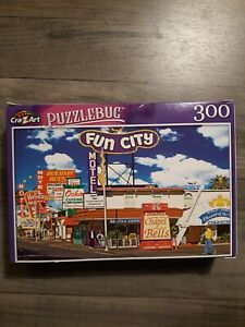 Puzzlebug Puzzle 300 Pieces - Motel & Restaurant Signs on the Las Vegas Strip