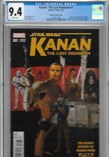 Kanan 1 CGC 9.4 Star Wars Rebels Plunkett VARIANT 1st Sabine Wren Ezra Hera 1:25