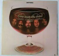 Deep Purple Come Taste the Band original vintage LP 1975 Cut-out VG/VG+