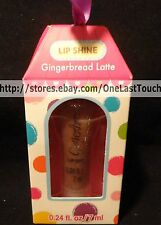 LIP SHINE Flavored Squeezy Lip Gloss GINGERBREAD LATTE (boxed) Stocking Stuffer
