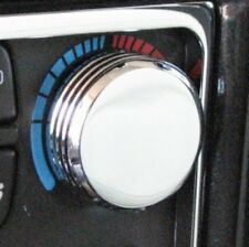 Hummer H2 Chrome Billet Aluminum Set of Two AC Control Knobs