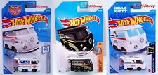 3 Hot Wheels Kool Kombi Volkswagen Magnus Walker Urban Outlaw Hello Kitty Black