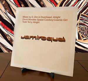 "JAMIROQUAI ALRIGHT UK 12"" VINYL RECORD EUROPE 1997 SONY SOHO SQUARE"