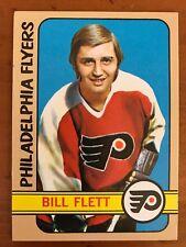 1972/73 Topps Hockey Card #139 Bill Flett Philadelphia Flyers EX-EX/MT