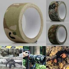 10m Camo Tape Roll Hunting Paintball Camouflage Gun Sniper Wrap Stealth Tapes