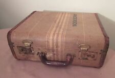 antique vinage salesman sample Anderson Window luggage suitcase carry case