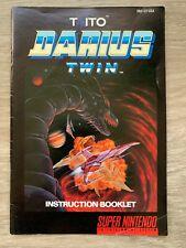 TAITO Darius Twin USA Manual Instruction Booklet