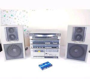 Panasonic vintage Hifi Sound System Amplified Excellent condition