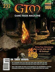 GTM Game Trade Magazine #232 w/Promo Poster (2019)