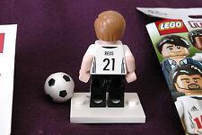 LEGO 71014 Marco Reus (21) minifigura calcio germania dfb Mannschaft Genuine