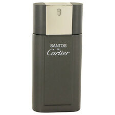 SANTOS de CARTIER Cologne for Men 3.3 oz / 3.4 oz Spray edt New tester