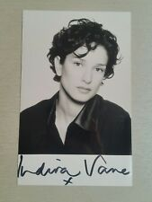 Autograph - Indira Varma - Torchwood & Game of Thrones - live ink on photo