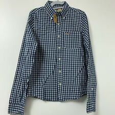 NWT Hollister Classic Plaid Shirt Button Down Men's Size Small By Abercrombie