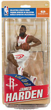 McFarlane NBA Series 31 Houston Rockets James Harden White Jersey non mint pkg