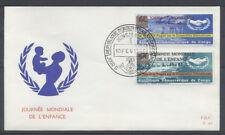CONGO BELGE FDC 69 - JOURNEE MONDIALE DE L'ENFANCE - 1967 LUXE