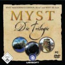 Myst Trilogy los 1 + 2 + 3 incl. Myst Masterpiece Edition alemán como nuevo