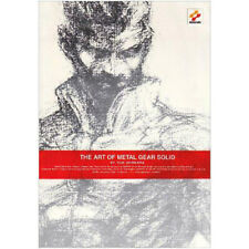 The Art of Metal Gear Solid by Yoji Shinkawa RARE game artbook mitrailleuses Nakai Kojima