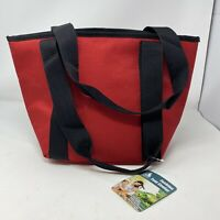 Insulated Tote Cooler Red And Black Blue Ridge Sports