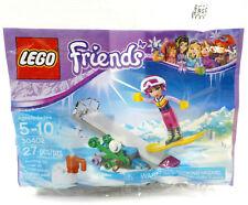 Lego Friends Snowboard Tricks Set #30402 & Stephanie Minifigure, Retired Polybag
