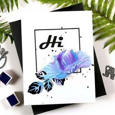 Wild Flower DIY Metal Cutting Dies Stencil Scrapbooking Album Paper Card Decor