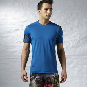 REEBOK MENS ONE SERIES ADVANTAGE PLAYICE SHORT SLEEVE PERFORMANCE TOP