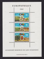 Dahomey 1969 - Europafrique - Landwirtschaft/ Baumwolle - Block 16 postfrisch