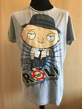 Family guy Stewie t shirt Size Large Grey That's How I Roll