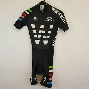 Team West End Vermarc Smith Nephew Cycling Speed Skin Suit Sz XS 1 44 Italy Made