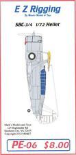Starfighter Decals 1/72 CURTISS SBC-3 SBC-4 HELLDIVER EZ RIGGING PHOTO ETCH SET