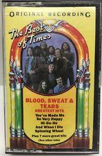 Blood, Sweat & Tears Greatest Hits Cassette Tape PCT 31170