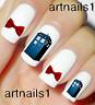 Dr Who Nails Tardis Sci Nail Art Water Decal Stickers Manicure Salon Mani Polish