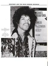 JIMI HENDRIX goes to the movies magazine PHOTO/Poster/clipping 11x8 inches