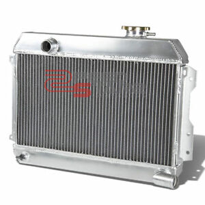 2-ROW REPLACEMENT FULL ALUMINUM CORE RADIATOR FOR 1968-1973 DATSUN 510/521/1600