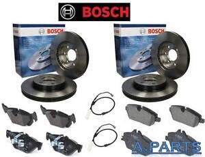 Bosch de Frein Complet avant et Arrière Avec Contact D' Usure BMW 1ER E81 E87