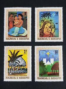Samoa: Christmas 1980; complete unmounted mint set