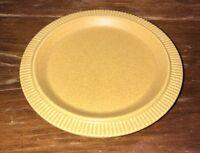 "Pfaltzgraff Nordic Yellow Stoneware Cornmeal Speckled 7"" Salad Dessert Plate"