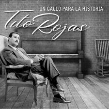 TITO ROJAS UN GALLO PARA LA HISTORIA CD DIGIPAK (ULTIMO CD 2019) MP & JN RECORDS