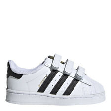 adidas Toddlers' Originals Superstar Shoes: White/Black - EF4842