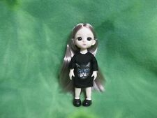 """6"""" Bjd Girl Doll Black Kitty Dress And Shoes * Collectibles * Gifts * Lovewraps"""
