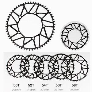 50/52/54/56/58T Folding Road Bike 130mm BCD Narrow Wide Chainring Chain Ring BK