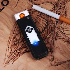 Women Men USB Electronic Rechargeable Battery Flameless Cigar Cigarette Lighter