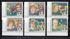 Central Africa 1985 World Cup Sc 730-735 complete mint never hinged