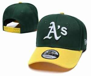Oakland Athletics Baseball Cap Adjustable Strapback Hat